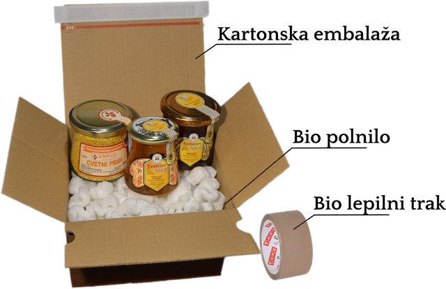 Naravi prijazno pakiranje
