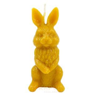 Sveča iz čebeljega voska zajček