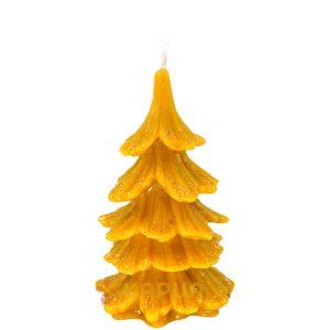 sveča iz čebeljega voska smreka