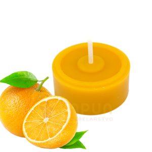 čajna sveča vosek sladka pomaranča