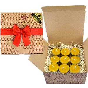 darilni set čajne svečke