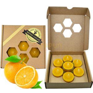 darilni program čajne svečke sladka pomaranča
