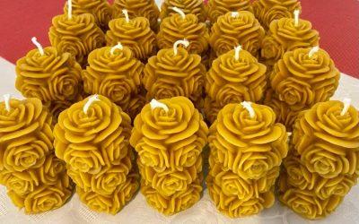 Sveče iz 100% čebeljega voska – kako jih shranjujemo in vzdržujemo?