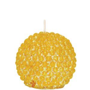 Sveča iz čebeljega voska biserna kroglica