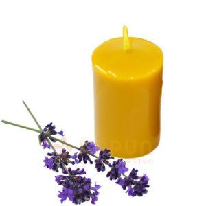 sveča iz čebeljega voska navadna sivka